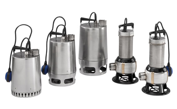Grundfos Unilift AP submersible drainage pump-centro