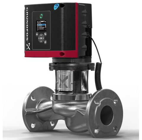 Grundfos TPE3-TPE2 inline circulator pump-centro