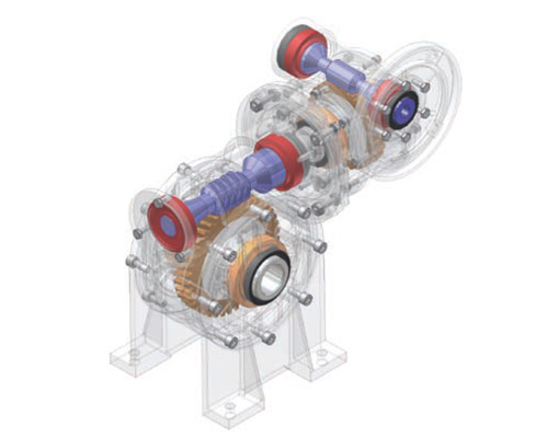 Siti Combined Worm Gearboxes-centro