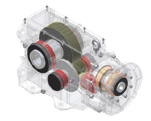 Siti Bevel Helical Gearboxes-centro