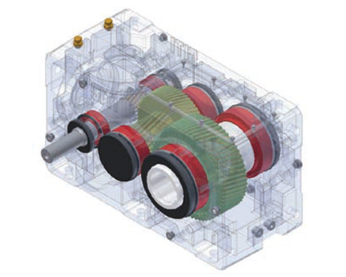 Siti Parallel Shaft Gearboxes-centro