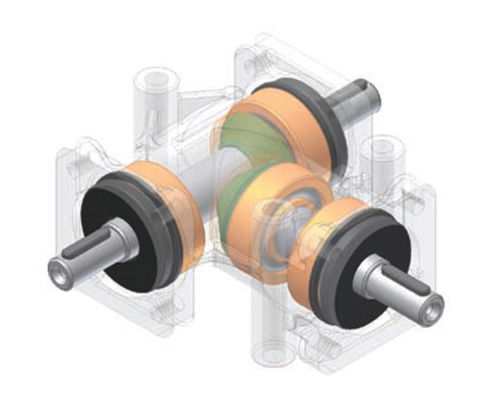 Siti Right Angle Gearboxes-centro
