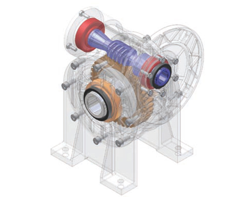 Siti Worm Gearboxes-centro