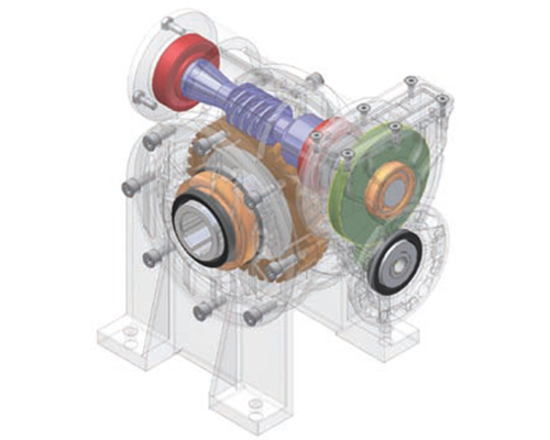 Siti Worm Gearboxes With Primary Reduction-centro