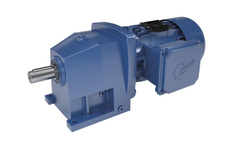 Nord Unicase Helical Gear Motor-centro