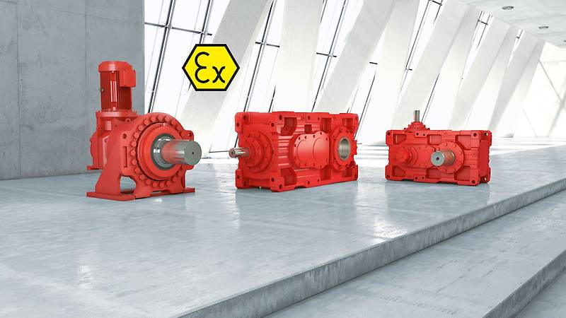 Sew Eurodrive explosion-proof industrial gear units-centro